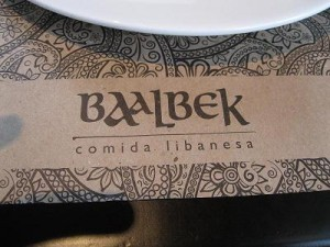 BAALBEK RESTAURANTE