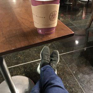 Esperando en el airport